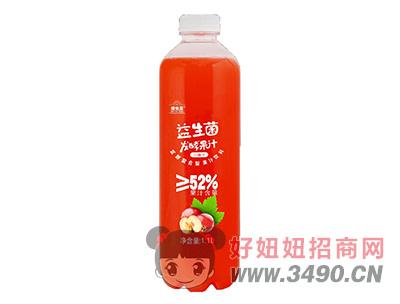 维他星益生菌发酵果汁山楂汁饮料1.1L