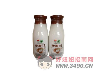 原味椰子汁玻璃瓶装