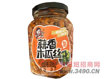 金姐蒜香木瓜丝218克