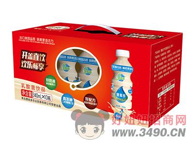 慧能多原味乳酸菌lehu国际app下载340ml×10瓶
