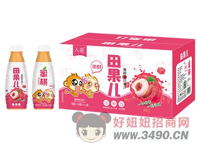 入巷田果儿蜜桃复合果汁450ml×15瓶