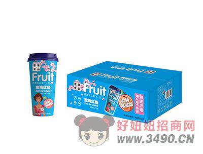 惠康蜜桃红柚饮品