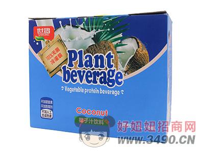 世鸿椰子汁饮料1L×6瓶