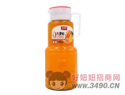 世鸿大果粒复合果粒芒果汁饮料1.5L