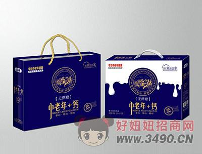 中老年+钙奶礼盒装