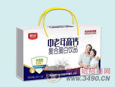 初冠中老年高钙无糖复合蛋白lehu国际app下载