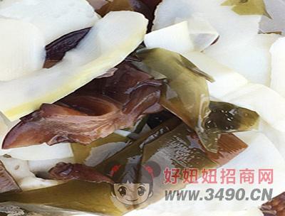 天府回乡妹方便火锅蔬菜包实物展示