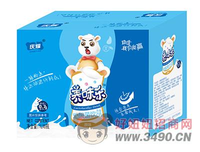 庆耀养味乐原味乳酸菌饮品礼盒1L×8瓶