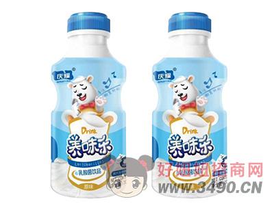 庆耀养味乐原味乳酸菌饮品200ml