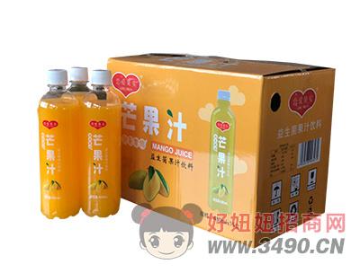 恋爱果实益生菌发酵芒果汁