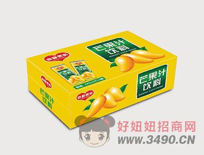 芒果汁饮料245mlx12罐