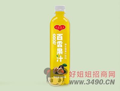 恋爱果实益生菌百香果汁饮料