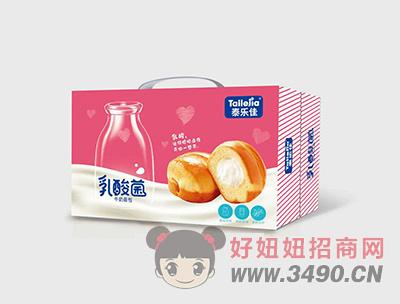 泰乐佳乳酸菌牛奶面包箱装