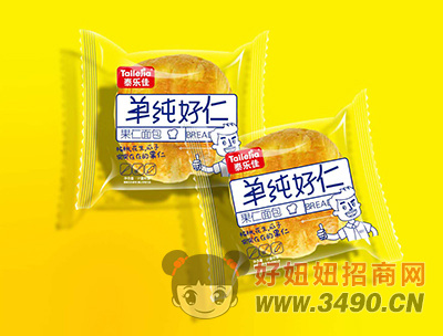 泰乐佳果仁面包
