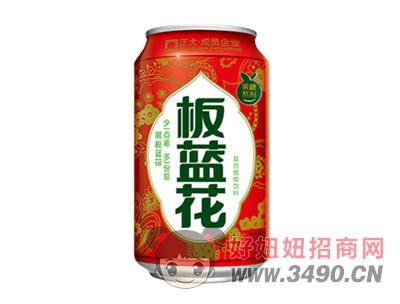板蓝花植物饮铝罐装310ml