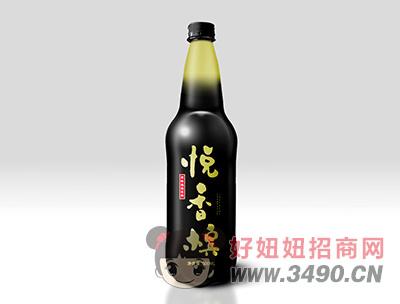 悦香槟500ml黑瓶装