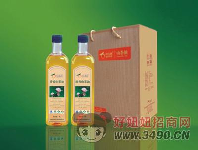 山宝树浓香山茶油