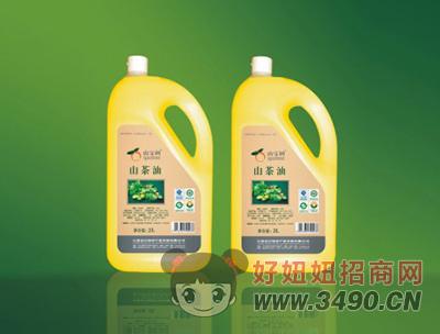 山宝树清香山茶油(3L)