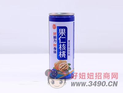 果仁核桃复合蛋白饮品罐装