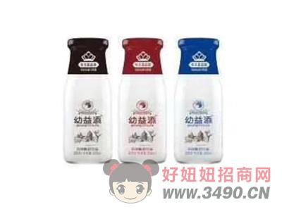 幼益添酸奶玻璃瓶装-300ml