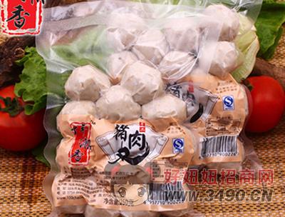 手工猪肉丸250g-百年潮香