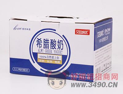 艾拉味优希腊酸奶300g×8瓶