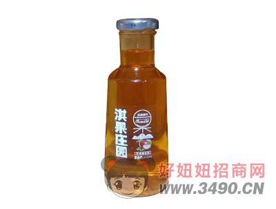 淇果庄园苹果醋饮料345ml