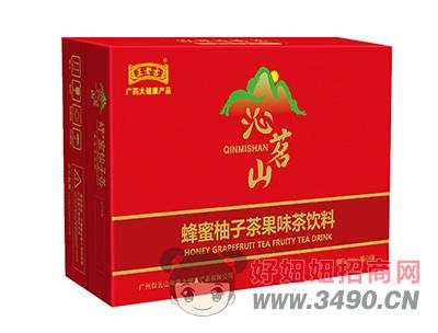 沁名山蜂蜜柚子茶果味茶�料310ml×24罐