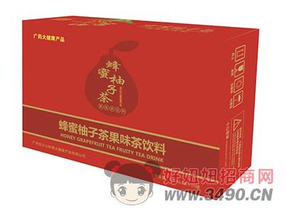 沁名山蜂蜜柚子茶果味茶饮料310ml×20罐