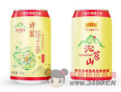 沁名山蜂蜜柚子茶果味茶饮料310ml