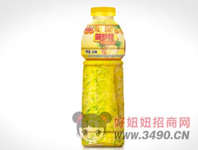 600ml-情之润-菠萝粒