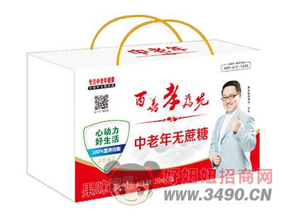 馨畅中老年无蔗糖果味饮品250ml×12盒