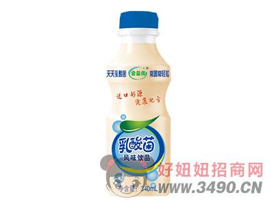 合元-合益优乳酸菌乳饮料原味340ml
