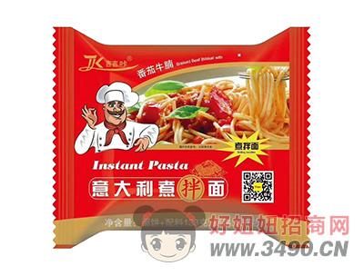 吉吉咔番茄牛腩意大利煮伴面133g