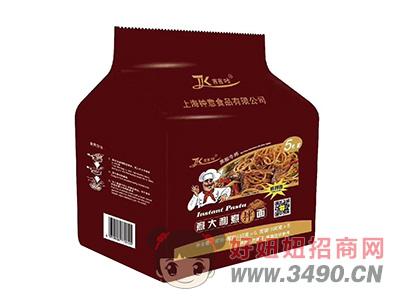吉吉咔黑椒牛排意大利煮伴面133g×5包
