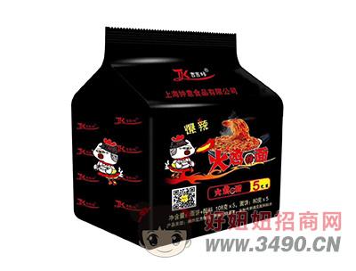 吉吉咔爆辣火鸡面108g×5包