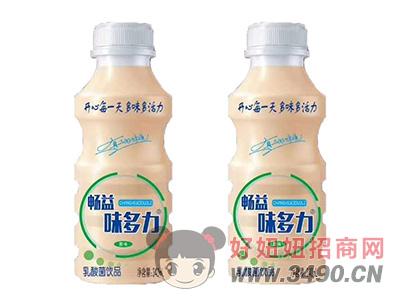 畅益味多力原味乳酸菌340ml瓶装