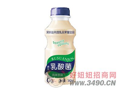达利园原味乳酸菌风味lehu国际app下载340ml