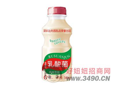 达利园草莓味乳酸菌风味lehu国际app下载340ml