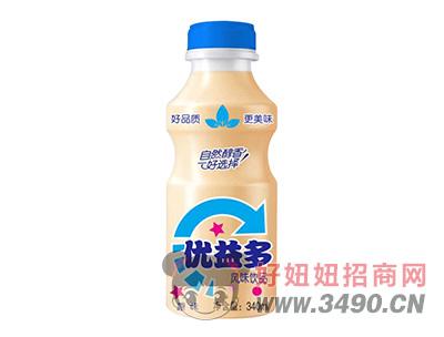优益多原味乳酸菌风味lehu国际app下载340ml