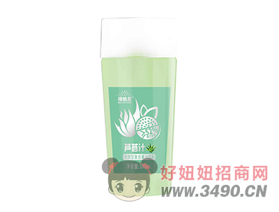 维他星芦荟汁发酵型复合果汁饮料388ml