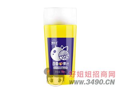 维他星百香果汁发酵型复合果汁饮料388ml
