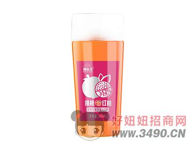 维他星桃桃红柚发酵型复合果汁饮料388ml