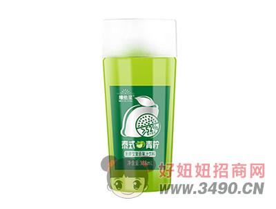 维他星泰式青柠发酵型复合果汁饮料388ml
