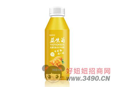 摇摇潮饮益生菌芒果发酵复合型果汁饮料450ml