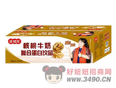 欣初元核桃牛奶复合蛋白饮品250ml×16包