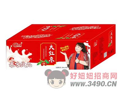 欣八喜大红枣果味饮品200ml×18包