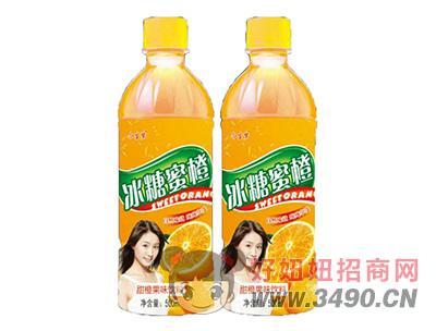 今生�舯�糖蜜橙果味�料500ml