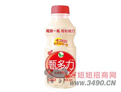 甄多力草莓味乳酸菌�品340ml