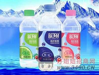 蓝翔无糖苏打饮料350ml(超市专供)
